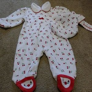 Holiday Christmas Baby Outfit NWT